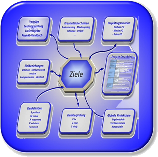 Initiation We check the project maturity in the initialization phase with you